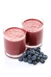 blueberry smoothy
